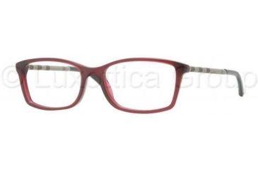 Burberry BE2120 Eyeglass Frames 3014-5116 - Plum Frame