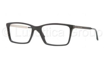 Burberry BE2126 Single Vision Prescription Eyeglasses 3001-5217 - Black Frame