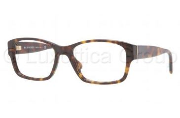 Burberry BE2127 Single Vision Prescription Eyeglasses 3002-5217 - Dark Havana Frame