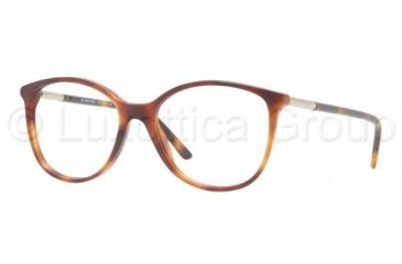 Burberry BE2128 Eyeglass Frames 3316-5216 - Havana Frame