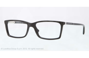 Burberry BE2139 Eyeglass Frames 3001-52 - Black Frame, Demo Lens Lenses