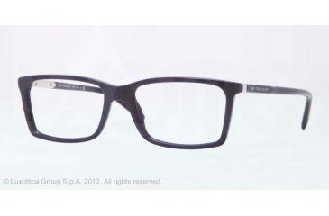 Burberry BE2139 Eyeglass Frames 3399-52 - Blue Frame, Demo Lens Lenses