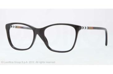 Burberry BE2141 Bifocal Prescription Eyeglasses 3001-51 - Black Frame, Demo Lens Lenses