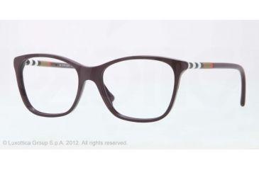 Burberry BE2141 Bifocal Prescription Eyeglasses 3400-51 - Violet Frame, Demo Lens Lenses