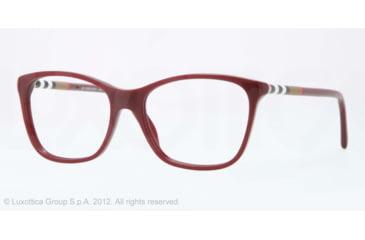 Burberry BE2141 Bifocal Prescription Eyeglasses 3403-53 - Bordeaux Frame, Demo Lens Lenses