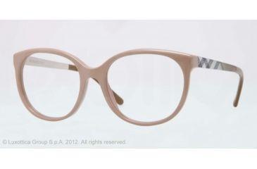 Burberry BE2142 Bifocal Prescription Eyeglasses 3281-51 - Nude Frame, Demo Lens Lenses
