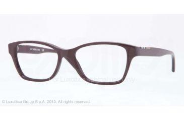 Burberry BE2144 Single Vision Prescription Eyeglasses 3424-51 - Violet Frame