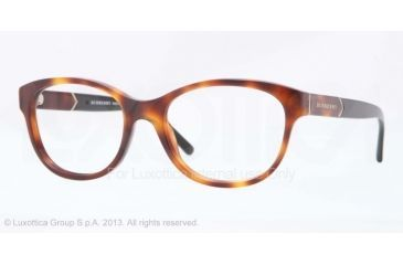 Burberry BE2151 Eyeglass Frames 3316-52 - Havana Frame