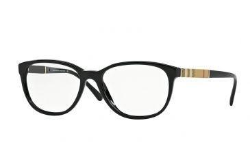 e379e3c8011 Burberry BE2172 Eyeglass Frames 3001-52 - Black Frame