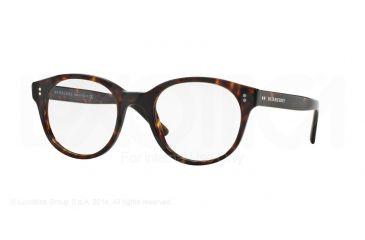 ec4dbdfe452 Burberry BE2194 Eyeglass Frames 3002-48 - Dark Havana Frame