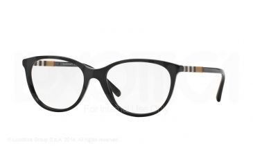 615f7f475017 Burberry BE2205 Eyeglass Frames 3001-52 - Black Frame