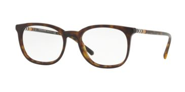 515d870a9fa Burberry BE2266 Progressive Prescription Eyeglasses 3002-52 - Dark Havana  Frame