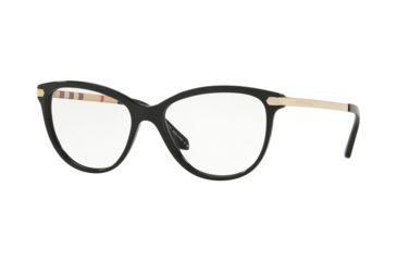 c5ebae9566 Burberry BE2280F Eyeglass Frames 3001-54 - Black Frame
