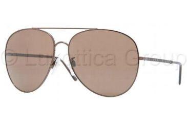 Burberry BE3051 Progressive Prescription Sunglasses BE3051-106373-6114 - Frame Color Brown, Lens Diameter 61 mm
