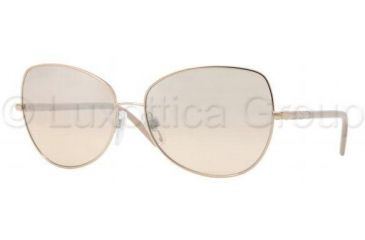 a758609e917a Burberry BE3054 Sunglasses 11293D-5815 - Rose Gold Beige Mirror Silver Grad
