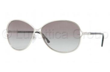 Burberry BE3066 Sunglasses 100511-6013 - Silver Frame, Gray Gradient Lenses