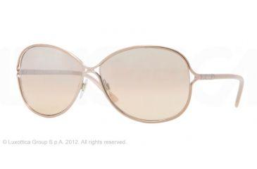 Burberry BE3066 Progressive Prescription Sunglasses BE3066-11293D-60 - Lens Diameter 60 mm, Frame Color Rose Gold