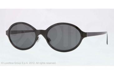 Burberry BE3069 Single Vision Prescription Sunglasses BE3069-118087-52 - Lens Diameter 52 mm, Lens Diameter 52 mm, Frame Color Black