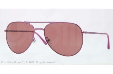 Burberry BE3071 Single Vision Prescription Sunglasses BE3071-117875-57 - Lens Diameter 57 mm, Lens Diameter 57 mm, Frame Color Violet
