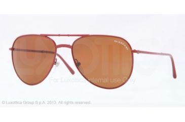 Burberry BE3071 Single Vision Prescription Sunglasses BE3071-119773-57 - Lens Diameter 57 mm, Frame Color Red