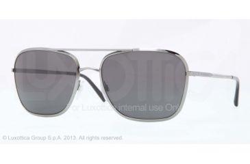 Burberry BE3075 Sunglasses 100387-59 - Gunmetal Frame, Gray Lenses