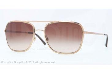 Burberry BE3075 Sunglasses 118913-59 - Gold Frame, Brown Gradient Lenses
