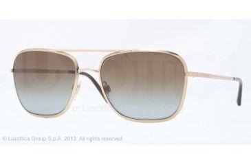 Burberry BE3075 Sunglasses 1189T5-59 - Gold Frame, Polar Brown Gradient Lenses