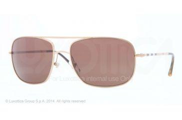 50a6419fca6f0 Burberry BE3077 Sunglasses 118973-60 - Gold Frame
