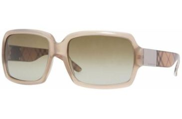 Burberry BE4076 Progressive Sunglasses, Beige Frame, Brown Gradient #316613
