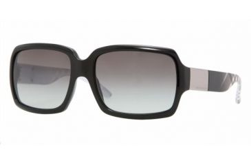Burberry BE4076 Sunglasses, Black Frame, Gray Gradient 316711-5616