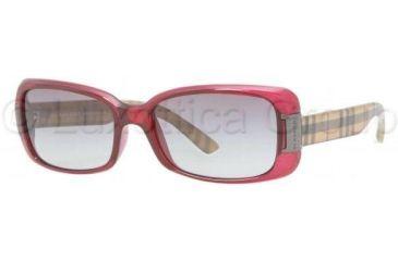 Burberry BE4087 Sunglasses 301411-5416 - Oxblood Gray Gradient