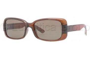 Burberry BE4087 Single Vision Prescription Sunglasses BE4087-3170-3-5416 - Lens Diameter 54 mm, Frame Color Brown