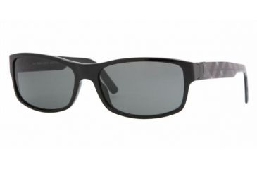 Burberry BE4090 #300187 - Black Gray Frame