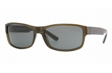 Burberry BE4090 #301087 - Olive Green Gray Frame