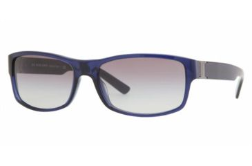 Burberry BE4090 #309211 - Transparent Dark Blue Gray Gradient Frame