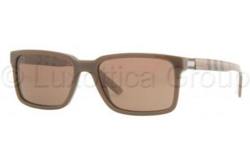 Burberry BE4097 Progressive Prescription Sunglasses BE4097-323773-5517 - Lens Diameter 55 mm, Frame Color Brown Hazelnut