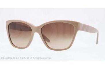 Burberry BE4109 Prescription Sunglasses BE4109-337613-57 - Lens Diameter 57 mm, Lens Diameter 57 mm, Frame Color Hazelnut
