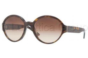 Burberry BE4111 Sunglasses 300213-5619 - Dark Havana Frame, Brown Gradient Lenses