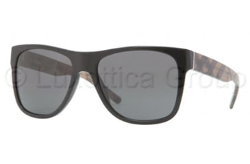 Burberry BE4112M Bifocal Prescription Sunglasses BE4112M-334687-5617 - Lens Diameter 56 mm, Frame Color Black Grey