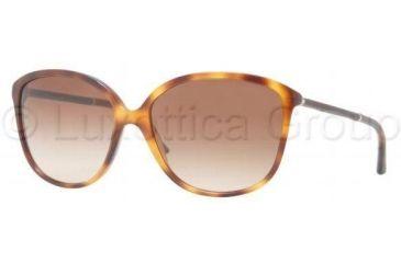 Burberry BE4118Q Progressive Prescription Sunglasses BE4118Q-331613-5916 - Lens Diameter 59 mm, Frame Color Havana