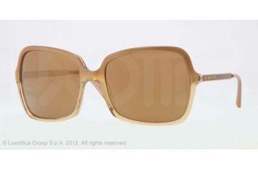Burberry BE4127 Bifocal Prescription Sunglasses BE4127-33706H-57 - Lens Diameter 57 mm, Frame Color Hazelnut Gradient Yellow