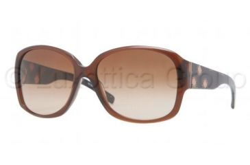 Burberry BE4128 Sunglasses 301113-5916 - Brown Frame, Brown Gradient Lenses