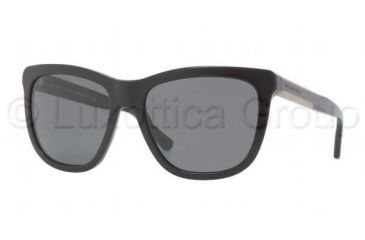 Burberry BE4130 Progressive Prescription Sunglasses BE4130-300187-5517 - Lens Diameter 55 mm, Frame Color Black Grey