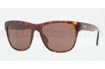 Burberry BE4131 Sunglasses 334973-5617 - Havana Frame, Brown Lenses