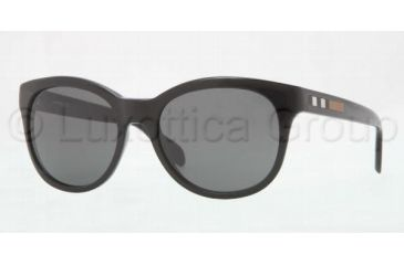 Burberry BE4132 Progressive Prescription Sunglasses BE4132-300187-5318 - Lens Diameter 53 mm, Frame Color Black Grey