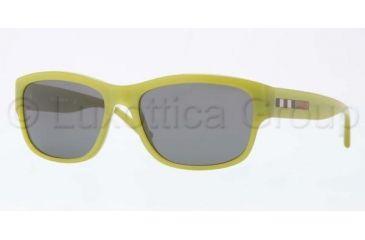 Burberry BE4134 Sunglasses 337487-5617 - Green Frame, Grey Lenses
