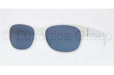 Burberry BE4135 Progressive Prescription Sunglasses BE4135-336880-5818 - Lens Diameter 58 mm, Frame Color White