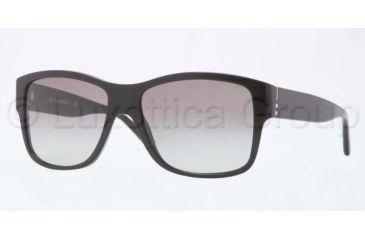 Burberry BE4136 Single Vision Prescription Sunglasses BE4136-300111-5616 - Lens Diameter 56 mm, Frame Color Black