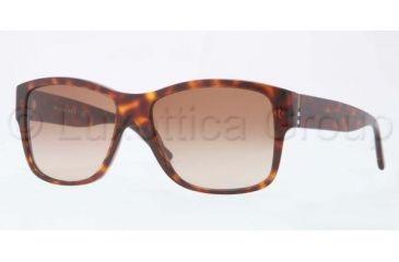 Burberry BE4136 Single Vision Prescription Sunglasses BE4136-334913-5616 - Lens Diameter 56 mm, Frame Color Brown Gradient