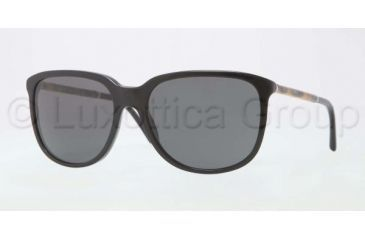 Burberry BE4139 Bifocal Prescription Sunglasses BE4139-300187-5717 - Lens Diameter 57 mm, Frame Color Black Grey